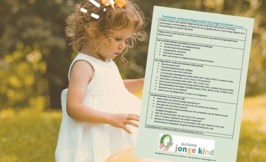 Nieuw: factsheet autisme-diagnostiek bij jonge kinderen (0-6 jaar)
